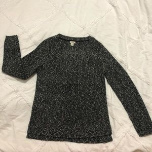 Black and white marbled sweater worn maybe once